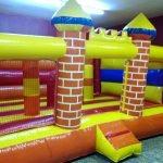 Castillo hinchable medieval